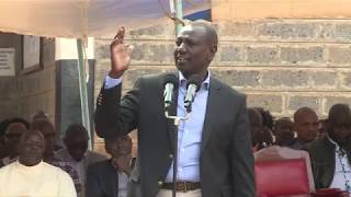 RUTO GETS ANGRY AFTER WAITITU ARREST SAYS WAR ON CORRUPTION HAS BEEN POLITICISED!
