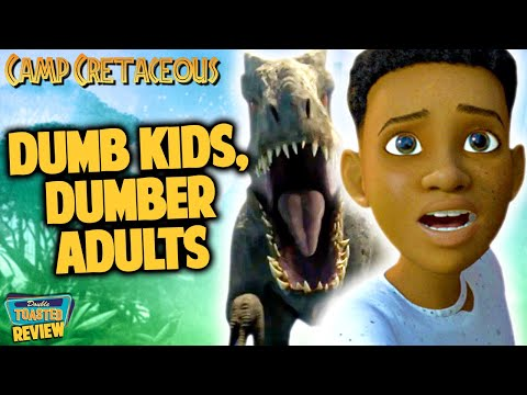 JURASSIC WORLD CAMP CRETACEOUS NETFLIX SHOW REVIEW | Double Toasted