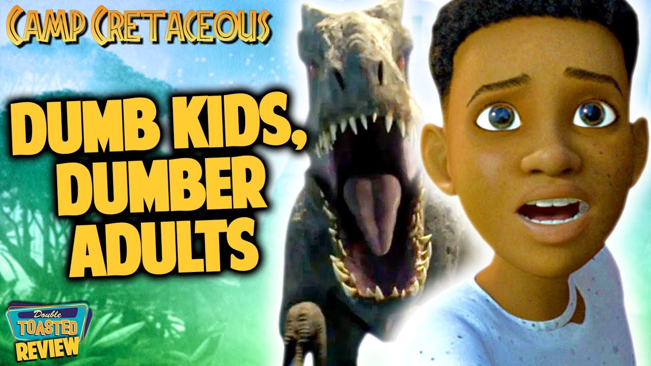 JURASSIC WORLD CAMP CRETACEOUS NETFLIX SHOW REVIEW   Double Toasted
