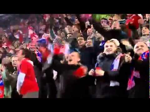 Radość Kibiców Wisły PoMeczu Wisła - Twente 2:1 - 14.12.2011