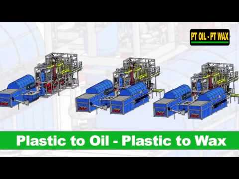 Plastic to Oil - Plastic to Wax