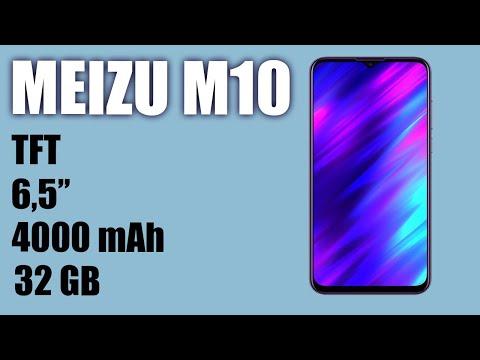 Обзор смартфона Meizu M10