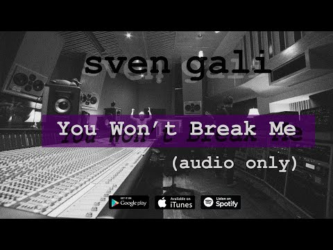 You Won't Break Me (Audio)