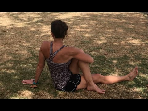 5 Minute Lower Body Stretch by the Sea