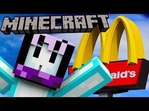KERJA DI MCDONALDS! - Minecraft Indonesia