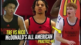 Nico Mannion, Cole Anthony & Tre Mann Go At It At 1st Mcdonald's All Ame