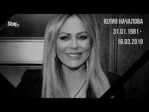 В Москве простились с Юлией Началовой