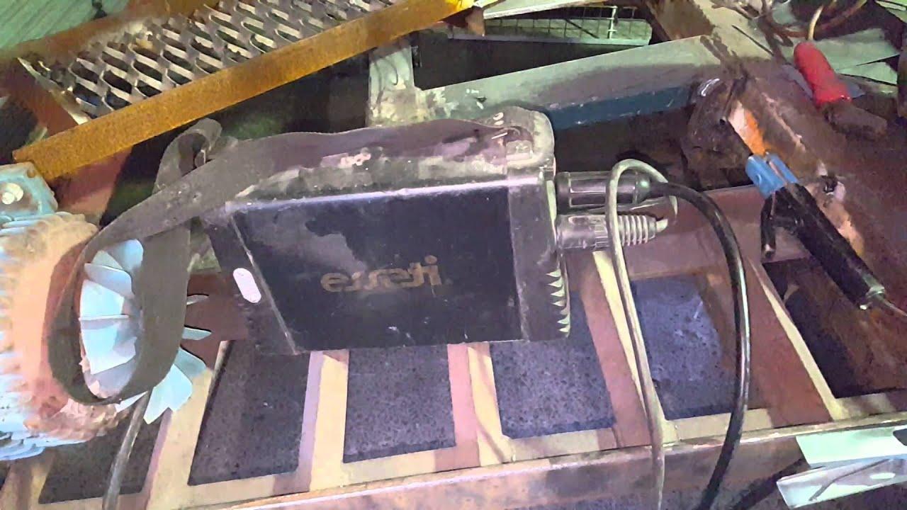 esseti 140op arc tig welder youtube rh youtube com Wire Feed Welder Arc Welder