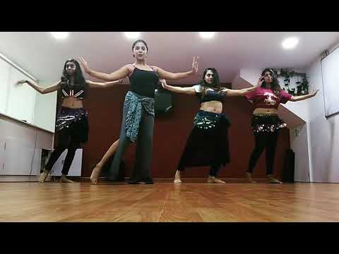 Taal Se Taal Mila | Freestyle Belly Dancing - By belly brains