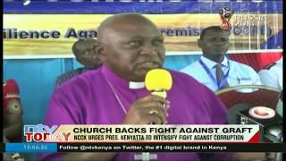NCCK urges President Kenyatta to intensify fight against corruption
