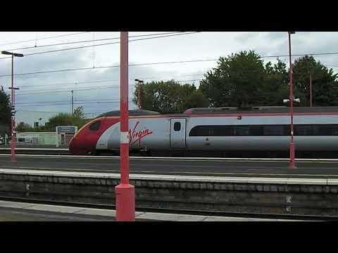 Virgin Pendolino At Birmingham International