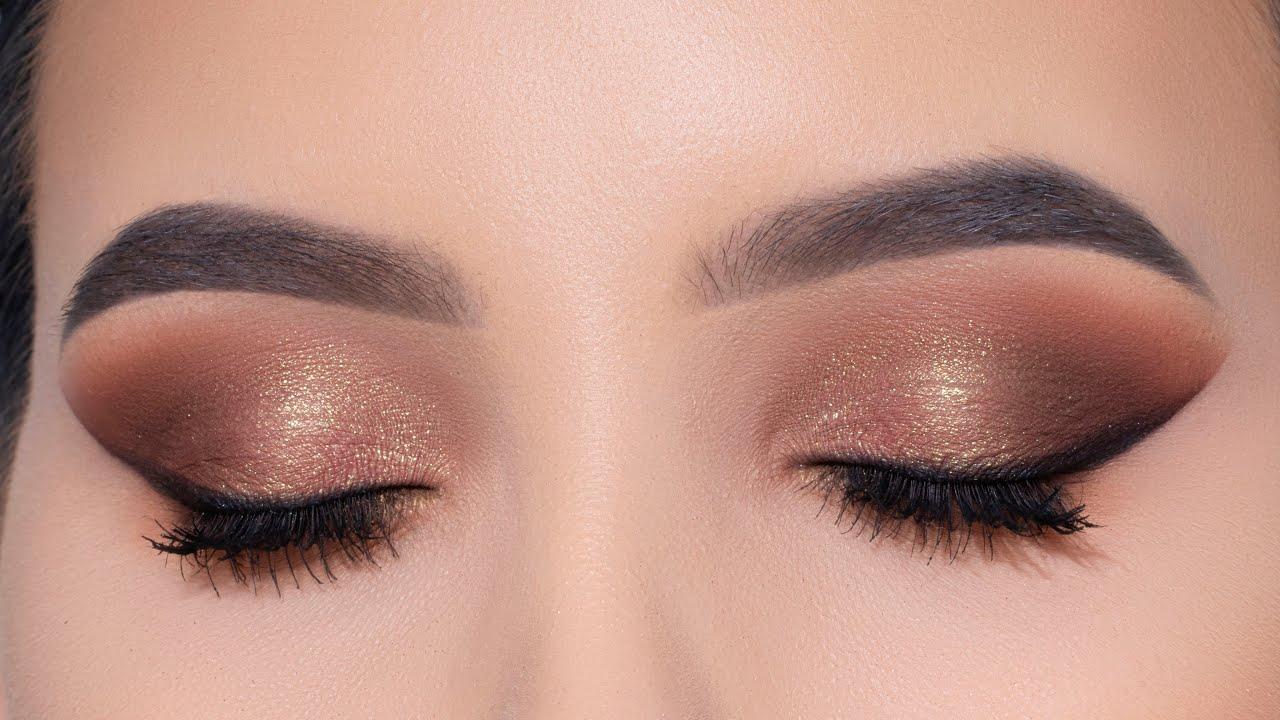 Bronze Eye Lifting Eye Makeup Tutorial | An Knook