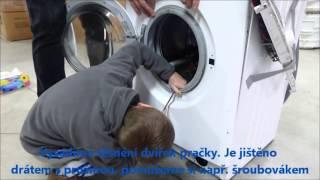Demontáž pračky Whirpool