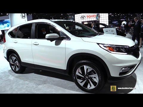 2016 Honda CRV Touring - Exterior and Interior Walkaround - 2016 New York Auto Show
