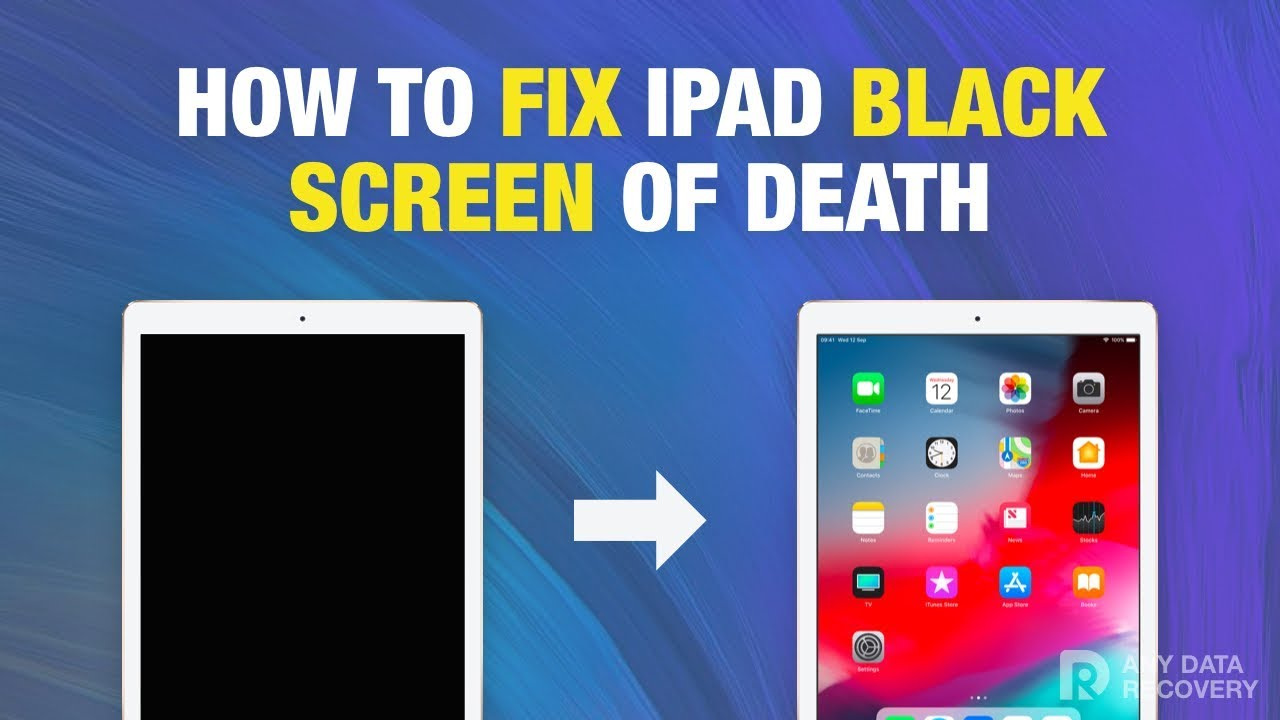 How to Fix iPad Black Screen / Won't Turn On in Minutes without Data Loss