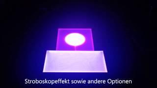 RGB LED Panel Sound Controller(Dieses Video zeigt eine Kombination aus 2 rahmenlosen RGB LED Panel. Es handelt sich hierbei um unser LiteFlex Board. Die Steuerung in diesem Video ..., 2014-09-08T21:18:55.000Z)