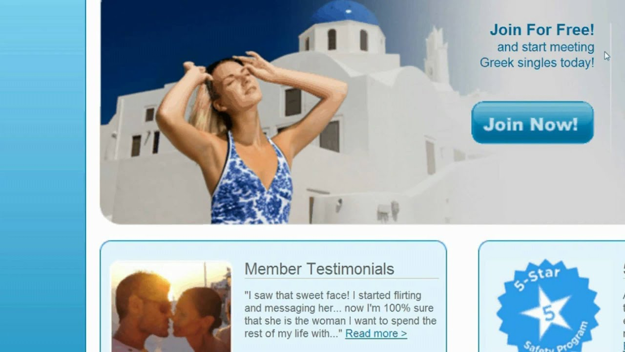 Greek singles online dating