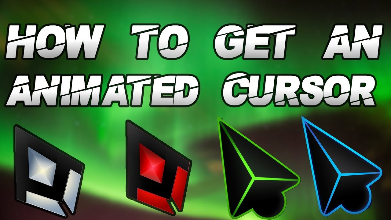 HOW TO GET COSTUME NORMAL/ANIMATED CURSORS ON WINDOWS 7/8/10 PC!!