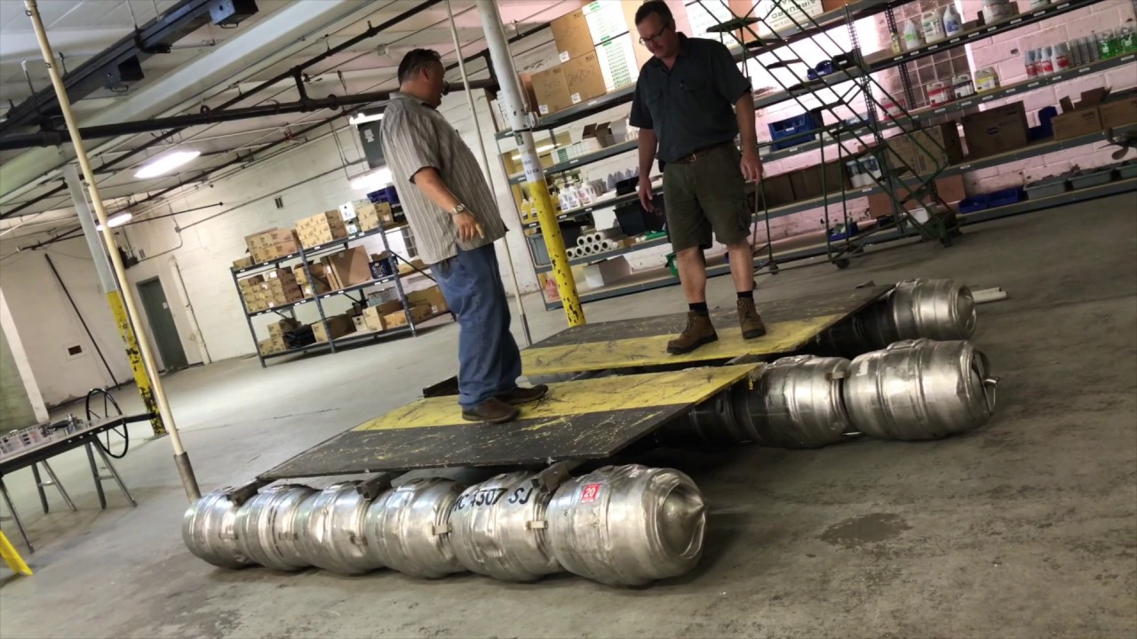 A boat made out of kegs? Meet Bella