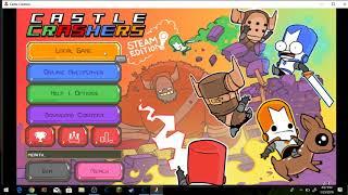 Cheat engine infinite health HACK!!!! Castle Crashers