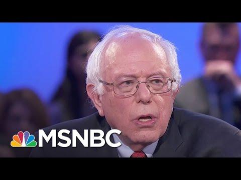 Bernie Sanders Defines