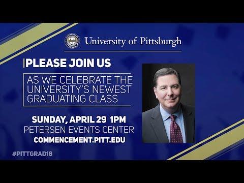 2018 Undergraduate Commencement Speaker Mayor Bill Peduto