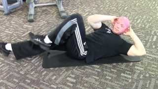 Core Crunch Alternating Bicycles Exercise - Leanness Lifestyle University