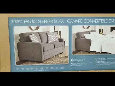 Costco! Fabric Sleep Sofa (Synergy Home)! $599!!!
