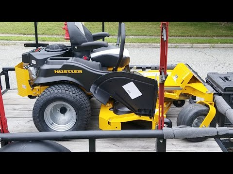 Hustler Raptor Sdx 54 Inch Mower Youtube