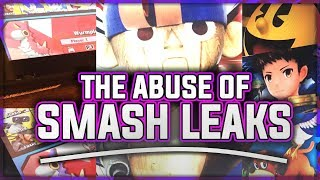 The Abuse of Leaks - Super Smash Bros. Ultimate Rant