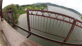 Прыжки с моста с верёвкой!Самара 2013(, 2013-07-27T17:13:45.000Z)