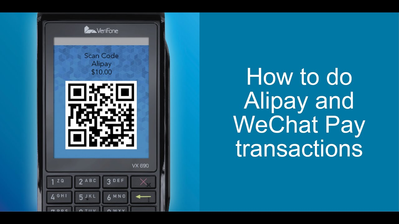 How To Do An Alipay or WeChat Pay Transaction | Eftpos NZ