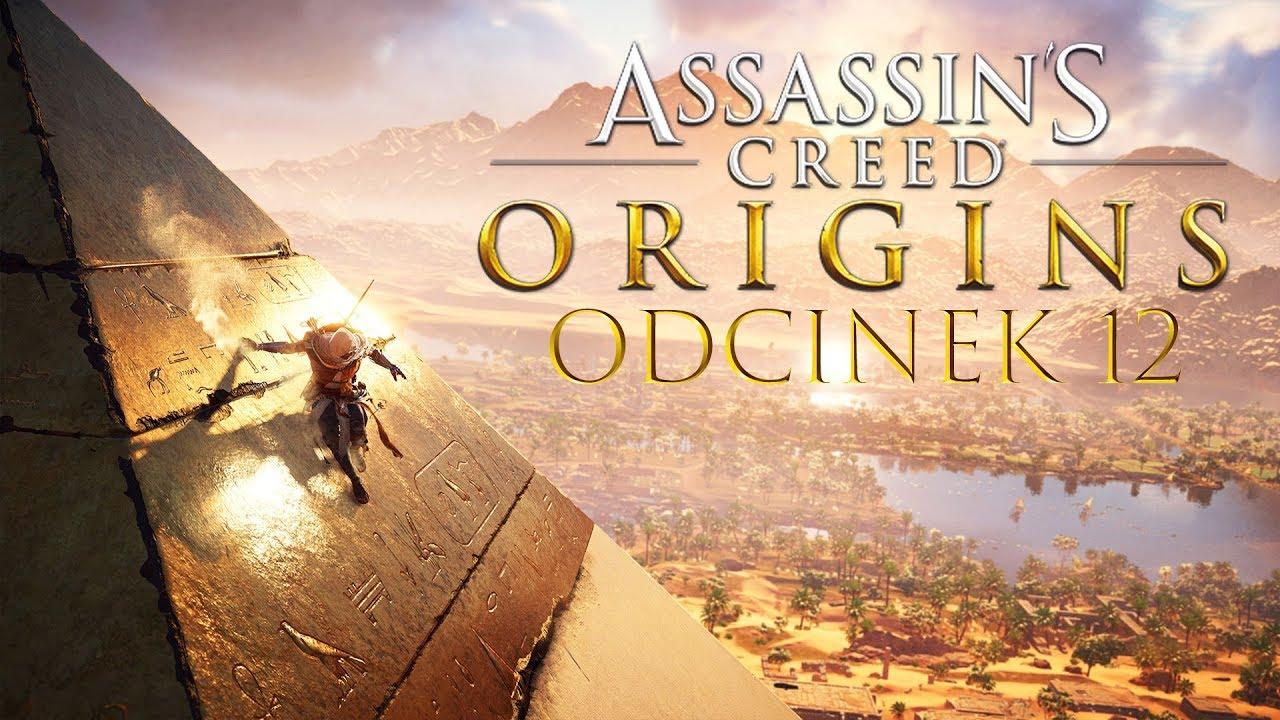 Zagrajmy w Assassin's Creed Origins #12 – WCHODZĘ NA SZCZYT PIRAMIDY! – PC