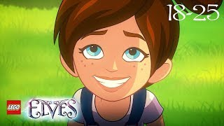 LEGO Elves Episodes 18 to 25 | Cartoon Full Movies for Children (English 30 minutes)
