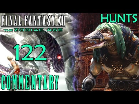 Final Fantasy XII The Zodiac Age Walkthrough Part 122 - Behemoth King Hunt 42 + Hunt 41
