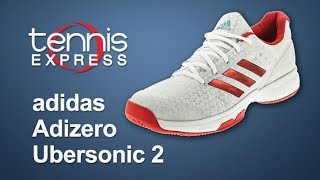 adidas Women`s Adizero Ubersonic 2 Tennis Shoe Review | Tennis Express