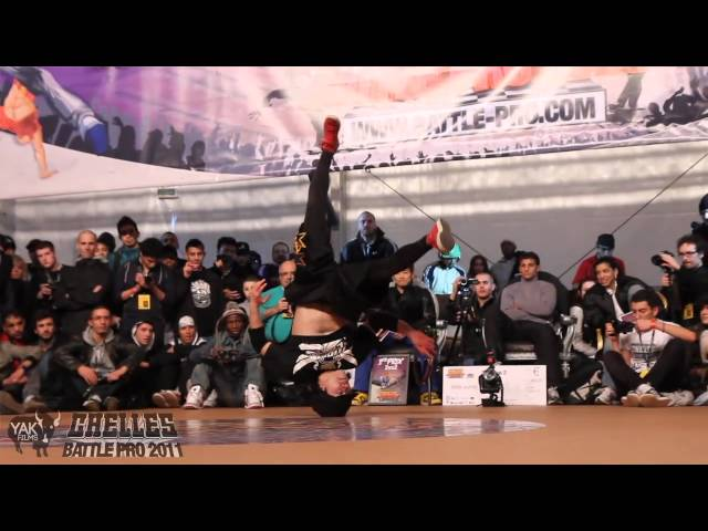 LIL G & MORRIS vs KAKU & YOSHI  Chelles Battle Pro 2011 Bboy 2on2 Final  YAK FILMS