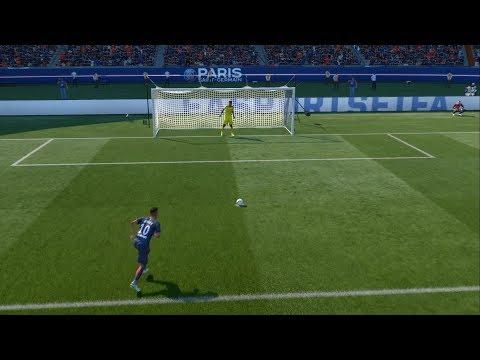 DEBUT NEYMAR (PSG) Parc des Princes - PSG x Toulouse Ligue 1 - 20/08/2017 -  FIFA 17