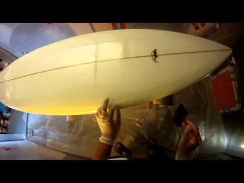 """Hotcoating 6' 6"""" Shortboard Surfboard Deck - Epoxy"""