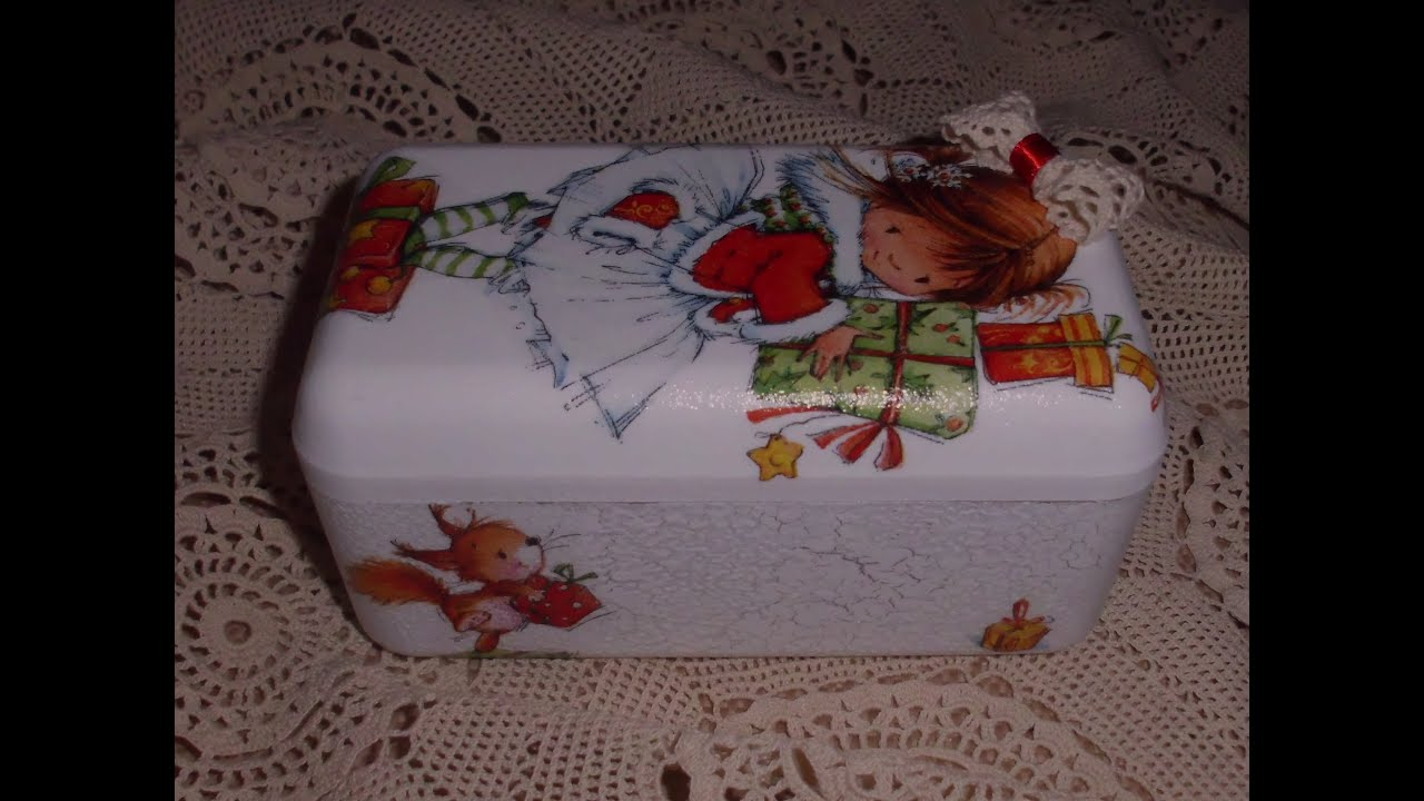 #4E5934 Decoupage Use Ferrero Rocher Box To Make Decoration For  6365 décoration noel découpage 2889x2151 px @ aertt.com