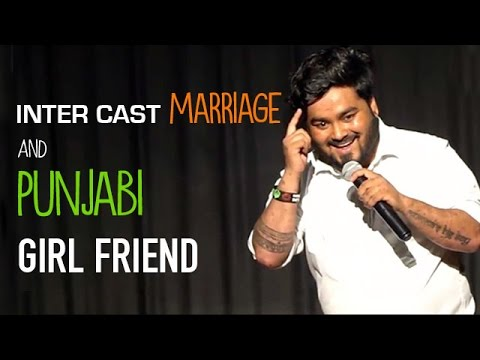 Punjabi Girl Friend | Stand Up Comedy By Nitin Mandal