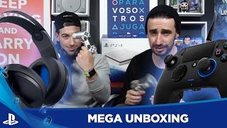 ¡El UNBOXING más BESTIA! - PS4 Glacier White, Nacon Revolution y MUCHO MÁS