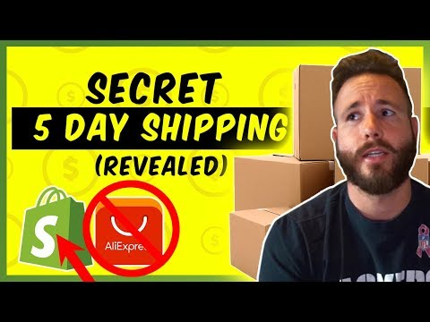 SECRET 5 Day Delivery Dropshipping - (Auto Fulfill & Branded Invoicing) thumbnail