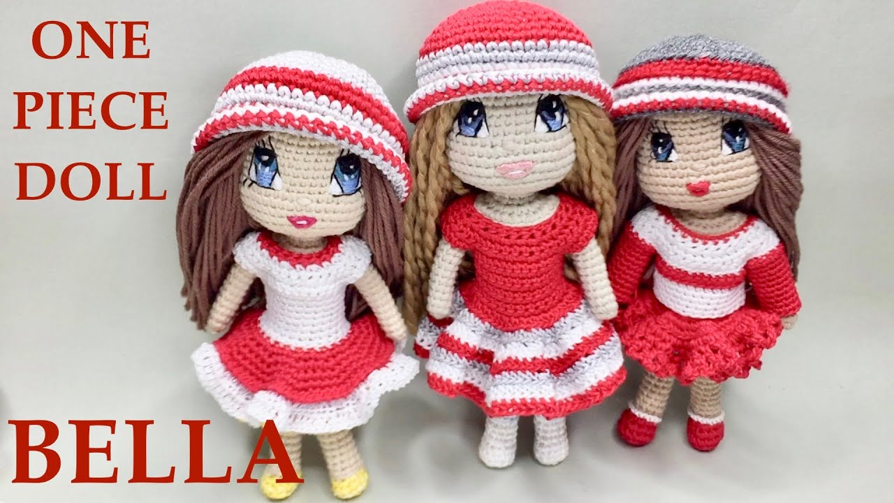 Little Billy - Free one piece amigurumi crochet doll pattern ... | 720x1280