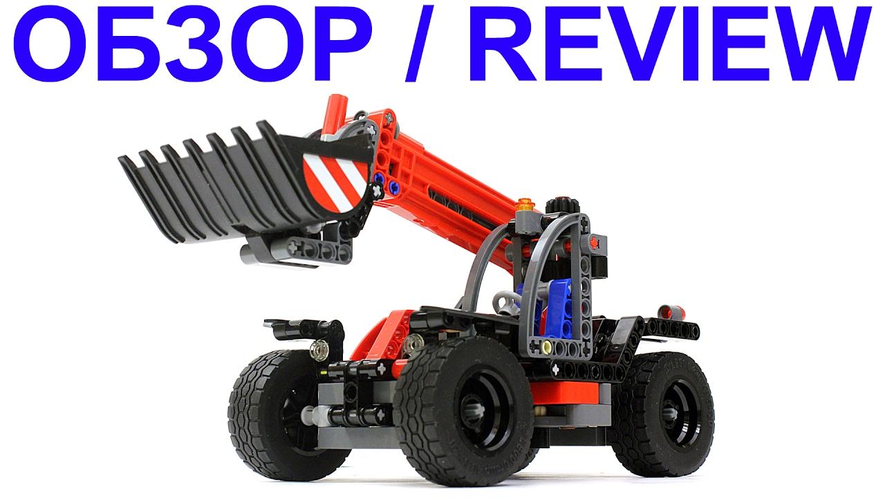 42061 lego technic 42061 telehandler review. Black Bedroom Furniture Sets. Home Design Ideas