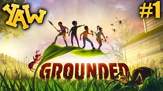 CRAZY GARDEN SURVIVAL WITH GIANT SPIDERS, ANTS & MORE! (Grounded)(Ep.1)