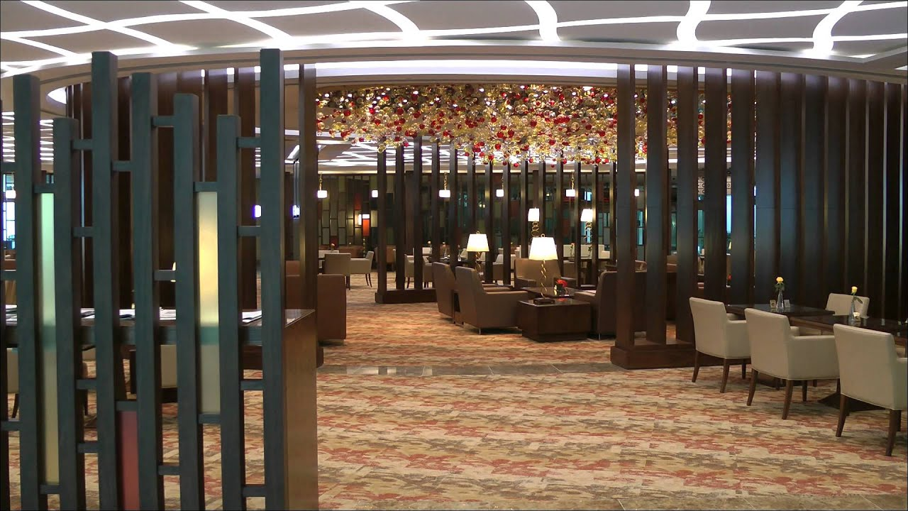New First Class Lounge Dubai, Terminal 3 - YouTube