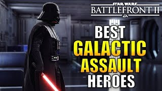 The Best Heroes For Galactic Assault In Battlefront 2