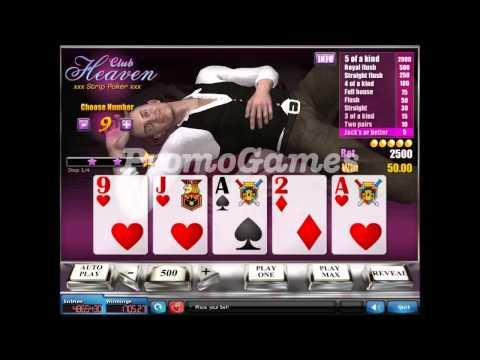 PromoGames Presents: Sweepstakes Heaven Strip Poker - Male Stripper Mike