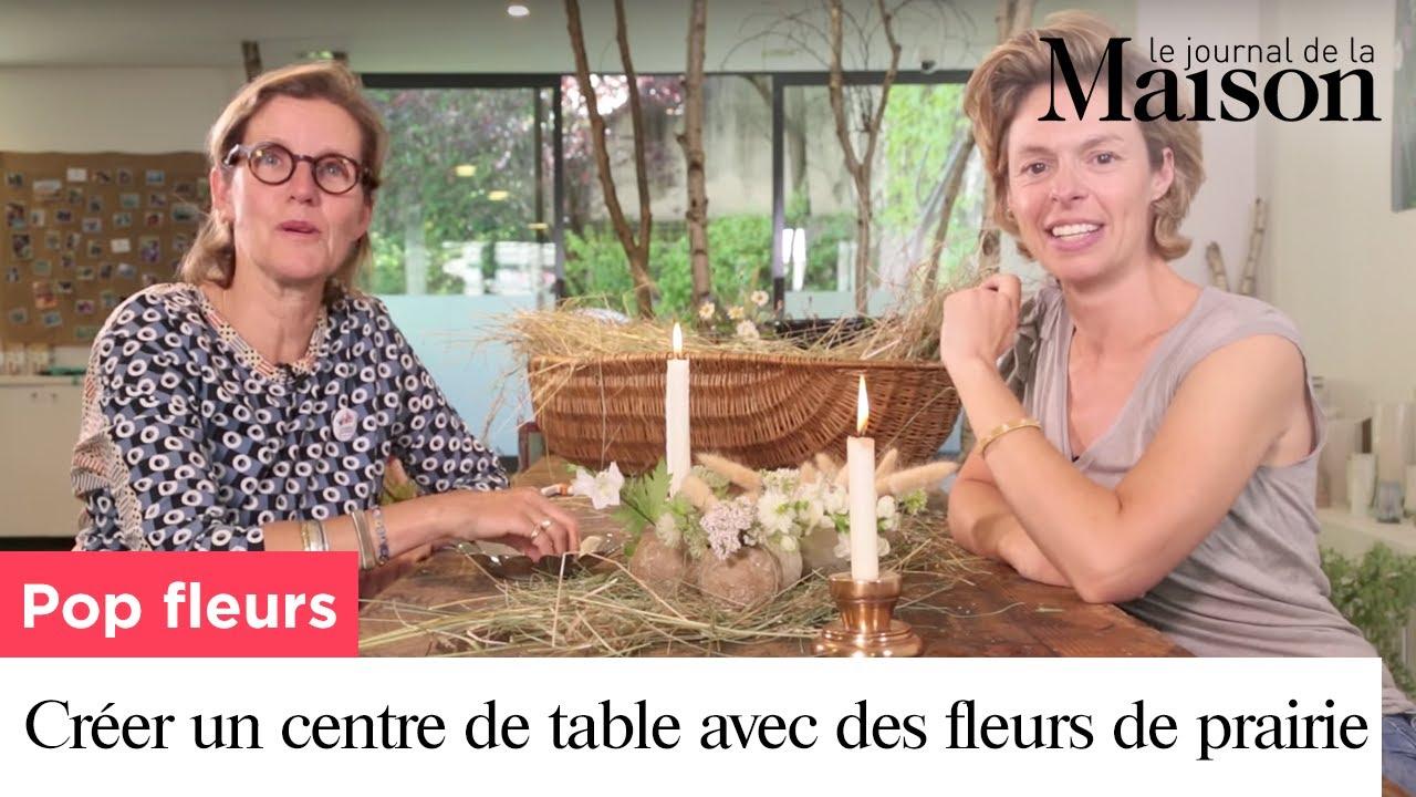 Comment Faire Un Centre De Table Avec Des Fleurs pop fleurs : comment créer un centre de table avec des fleurs de prairie ?